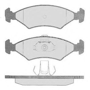 Колодки тормозные RAICAM RA02194