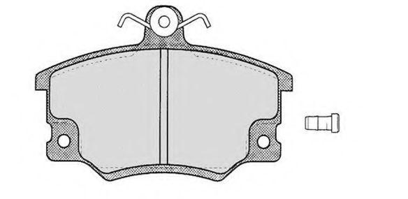 Колодки тормозные RAICAM RA02221