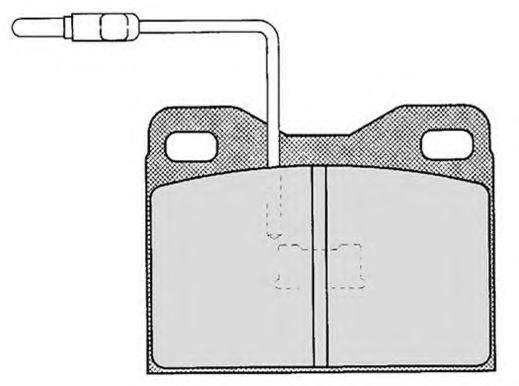 Колодки тормозные RAICAM RA02806
