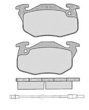 Колодки тормозные RAICAM RA02850