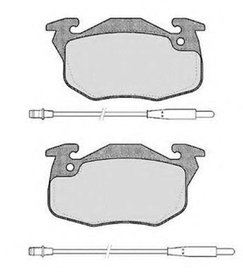 Колодки тормозные RAICAM RA02851