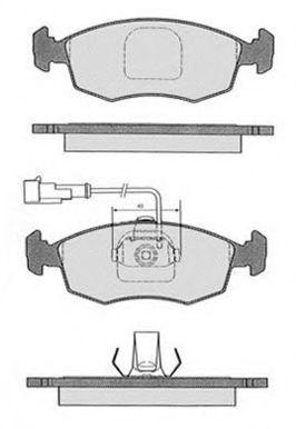 Колодки тормозные RAICAM RA03183