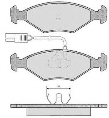 Колодки тормозные RAICAM RA03310