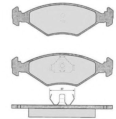 Колодки тормозные RAICAM RA03311