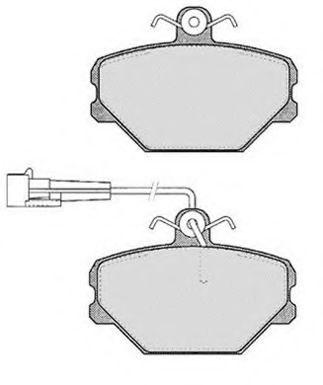 Колодки тормозные RAICAM RA03491