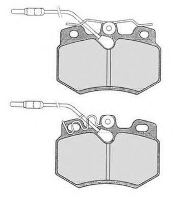 Колодки тормозные RAICAM RA03901