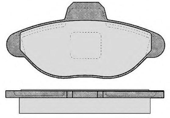 Колодки тормозные RAICAM RA04180