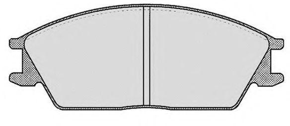 Колодки тормозные RAICAM RA04570
