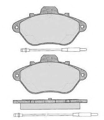 Колодки тормозные RAICAM RA05381