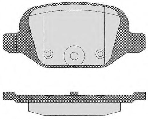 Колодки тормозные RAICAM RA06090