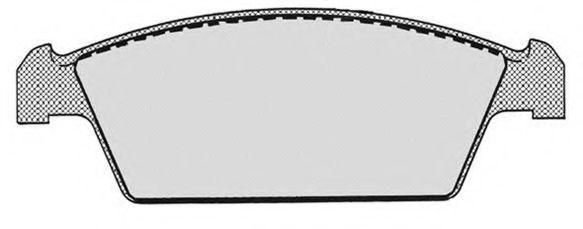Колодки тормозные RAICAM RA06490