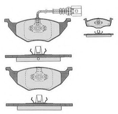 Колодки тормозные RAICAM RA06842