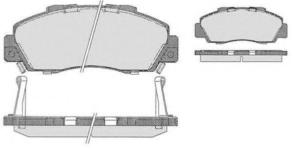 Колодки тормозные RAICAM RA06990