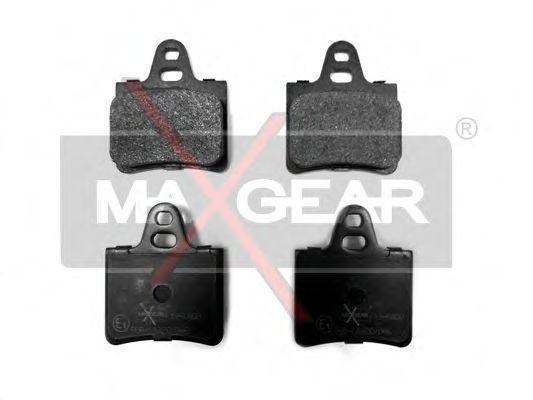 Колодки тормозные MAXGEAR 19-0400
