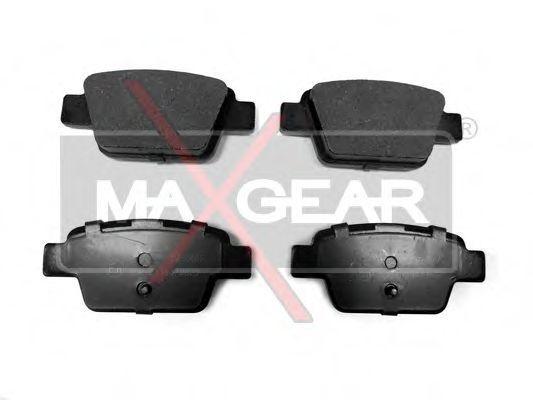 Колодки тормозные MAXGEAR 19-0442