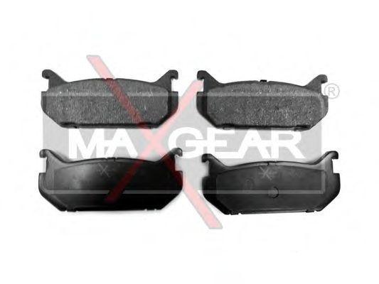Колодки тормозные MAXGEAR 19-0460