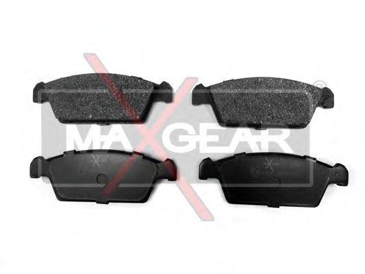Колодки тормозные MAXGEAR 19-0480
