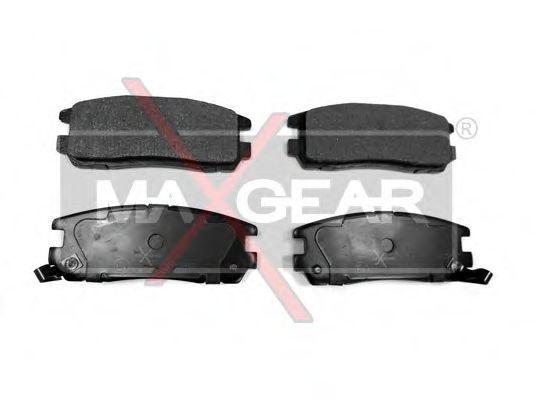 Колодки тормозные MAXGEAR 19-0483