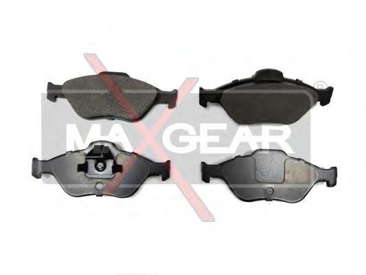 Колодки тормозные MAXGEAR 19-0619