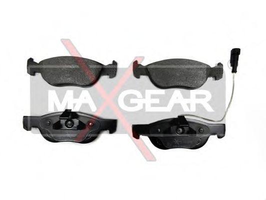 Колодки тормозные MAXGEAR 19-0655