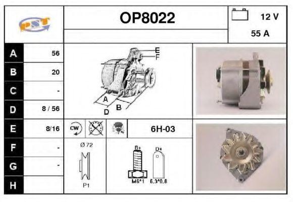 Генератор SNRA OP8022