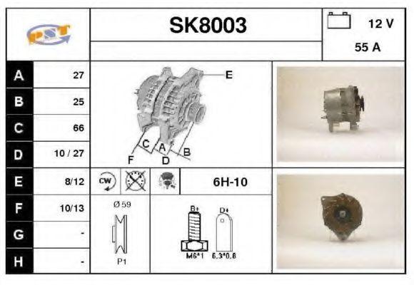 Генератор SNRA SK8003
