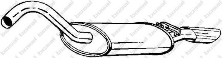 Глушитель BOSAL 105119