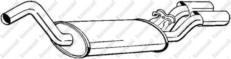 Глушитель BOSAL 105127
