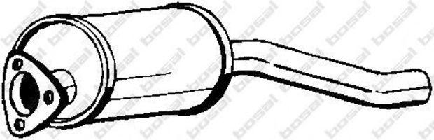 Труба выхлопная передняя BOSAL 105059