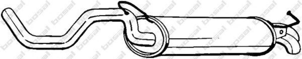 Глушитель BOSAL 278145