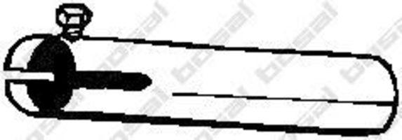 Купить Труба выхлопная приемная BOSAL 328187