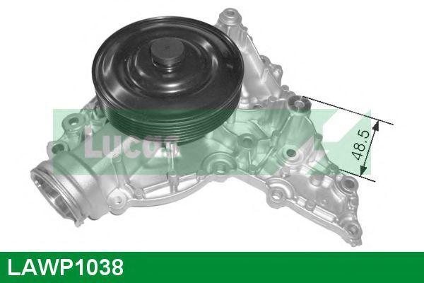 Водяной насос LUCAS ENGINE DRIVE LAWP1038