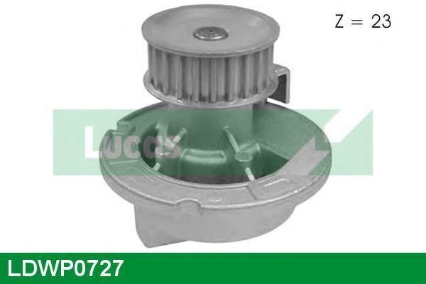 Водяной насос LUCAS ENGINE DRIVE LDWP0727