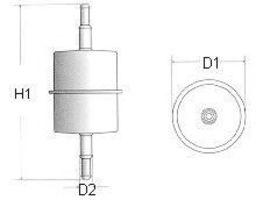 Фильтр топливный CHAMPION L104606