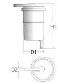 Фильтр топливный CHAMPION L119606