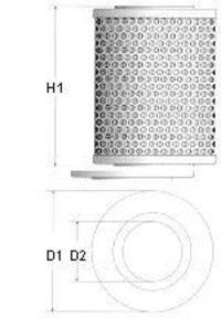Фильтр топливный CHAMPION L136606