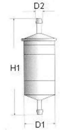 Топливный фильтр CHAMPION L218606