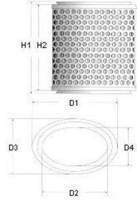 Фильтр воздушный CHAMPION V426/606
