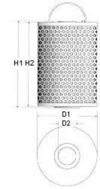 Фильтр масляный CHAMPION X106606