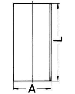 Гильза блока цилиндров KOLBENSCHMIDT 89436190