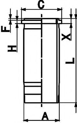 Гильза двигателя KOLBENSCHMIDT 89 867 110