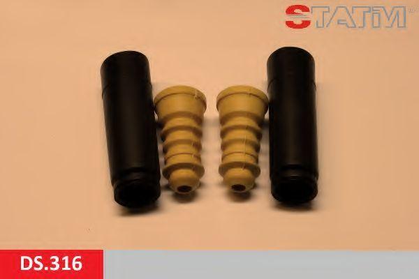 Пылезащитный комплект, амортизатор STATIM DS316