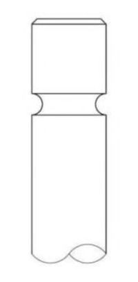 Клапан двигателя впускной INTERVALVES 3418002