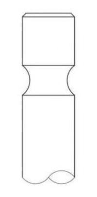 Клапан двигателя впускной INTERVALVES 3277032