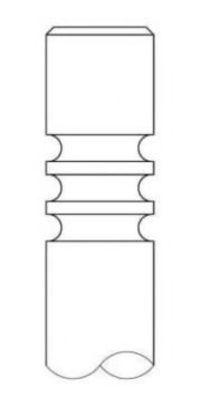 Клапан двигателя впускной INTERVALVES 2900032