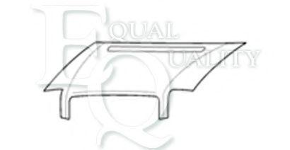 Капот двигателя EQUAL QUALITY L03601