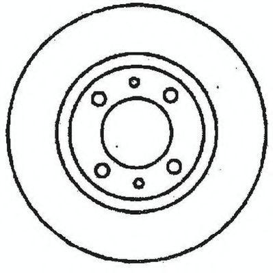 Тормозной диск STOP 561326S