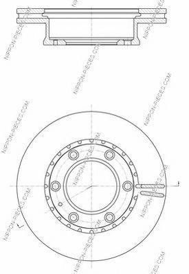 Тормозной диск NPS M330A79