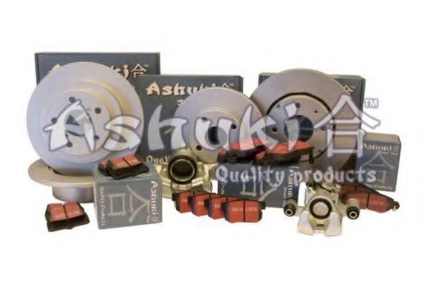 Комплект тормозных колодок, дисковый тормоз ASHUKI D09107