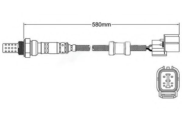 Лямбда-зонд ASHUKI 920048186
